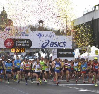 La Zurich Maratón de Barcelona