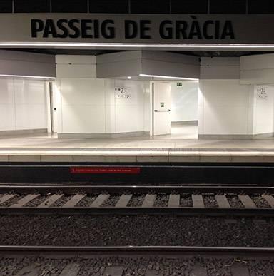 Estación de Passeig de Gràcia