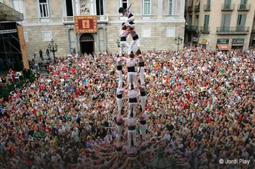 Les Castellers de Barcelone