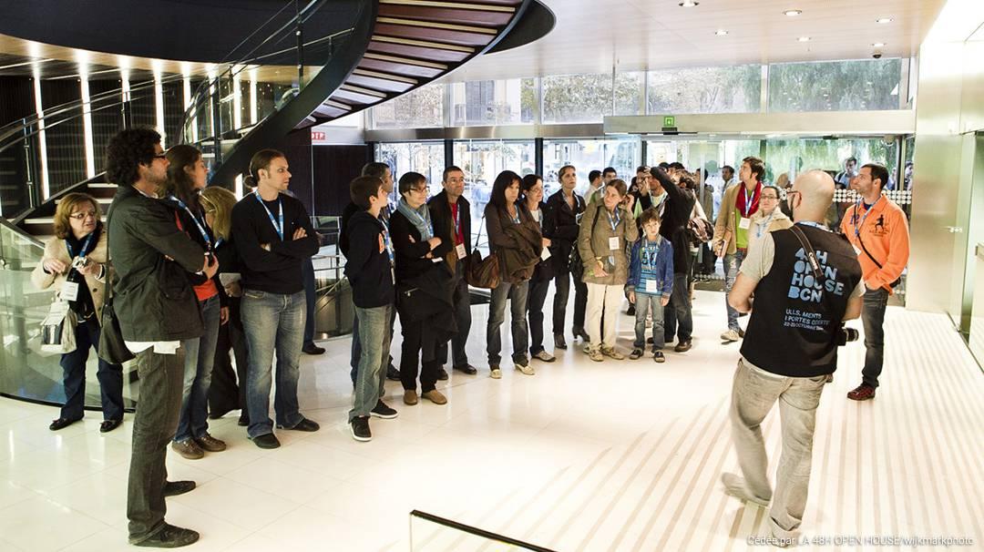 Le festival d'architecture 48h Open House Barcelona