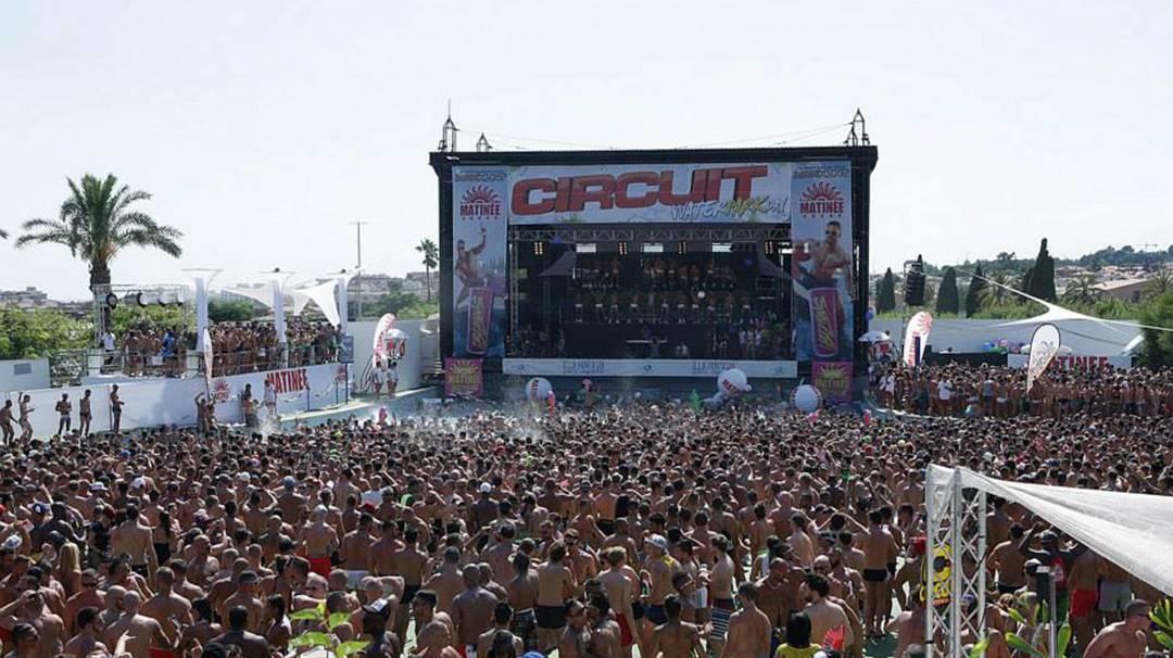 L'affiche du Circuit Festival