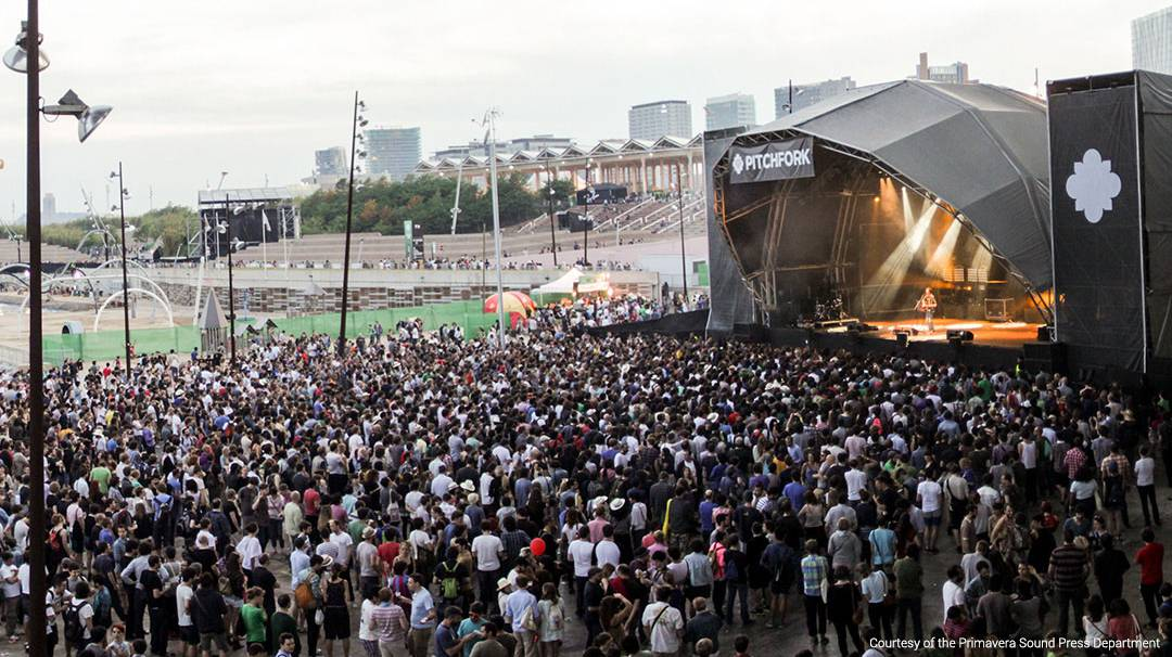 One of the Primavera Sound stages