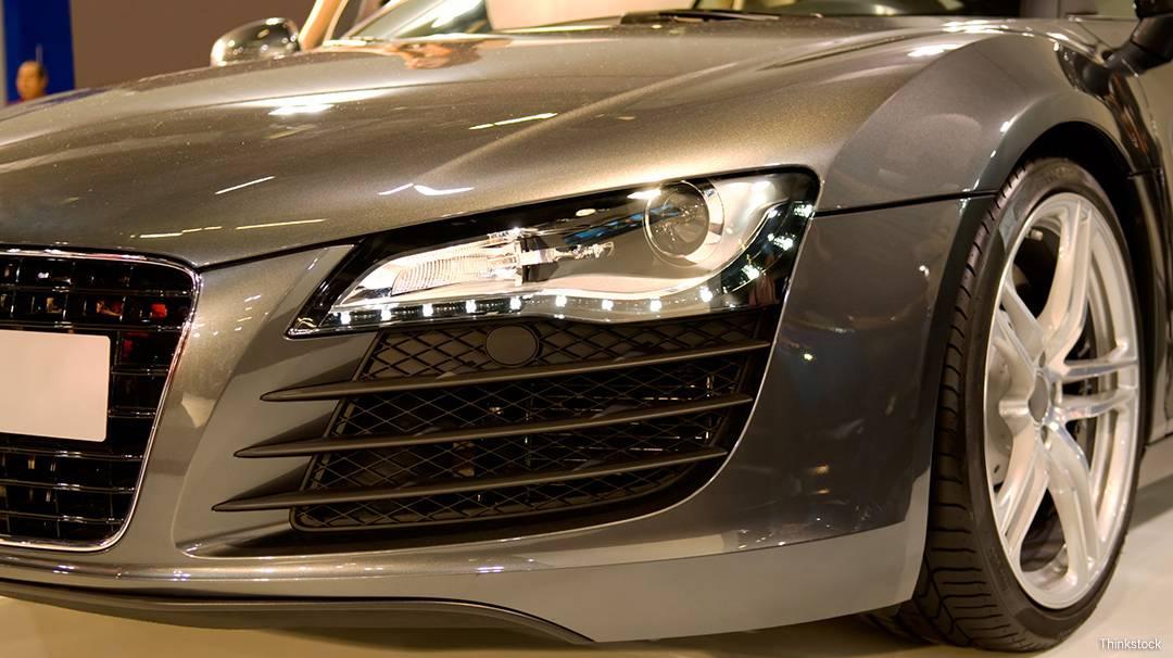 Cotxe al Saló Internacional de l'Automòbil