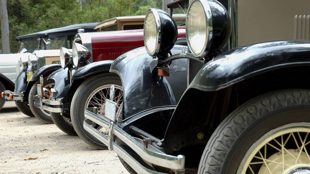 The Barcelona International Vintage Car Rally