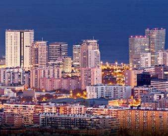 Bâtiments de la Diagonal de Barcelone