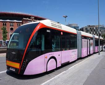 En transporte público