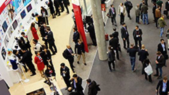 El recinto del GSMA Mobile World Congress