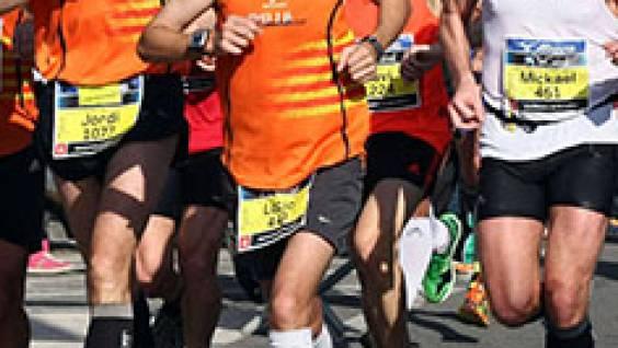 participants au Semi-marathon de Barcelone