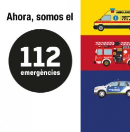 Ahora, somos el 112 emergències