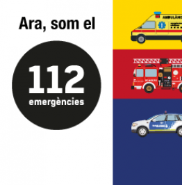 Ara, som el 112 emergències