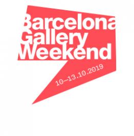 Cartell Barcelona Gallery Weekend. 10-13.10.2019