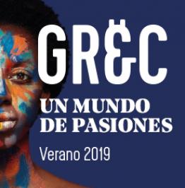 Cartel: Grec. Un mundo de Pasiones. Verano 2019