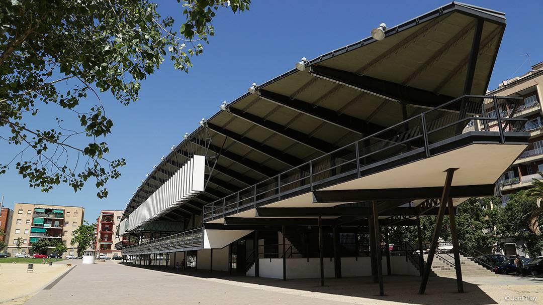 Edificio del Canòdrom Meridiana