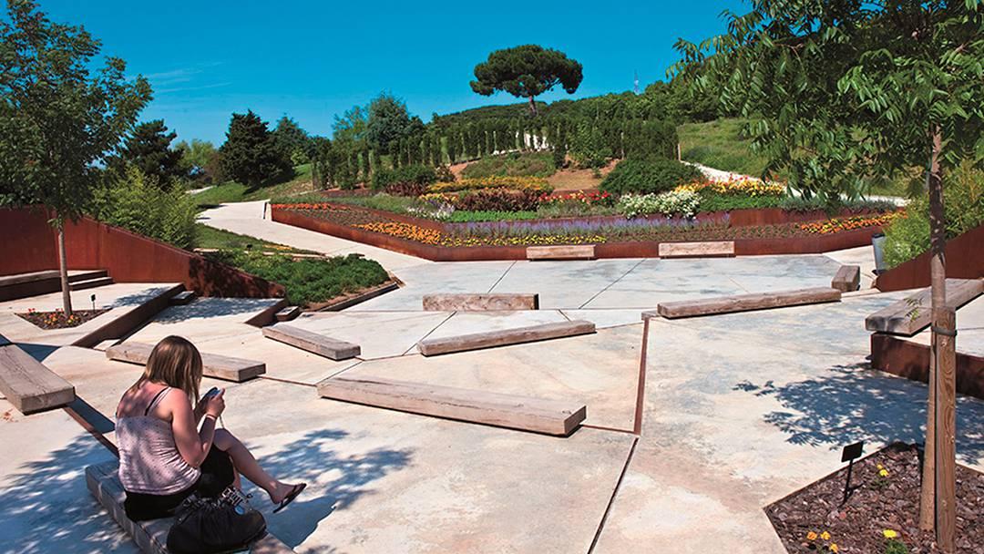 Vista del Jardín Botánico