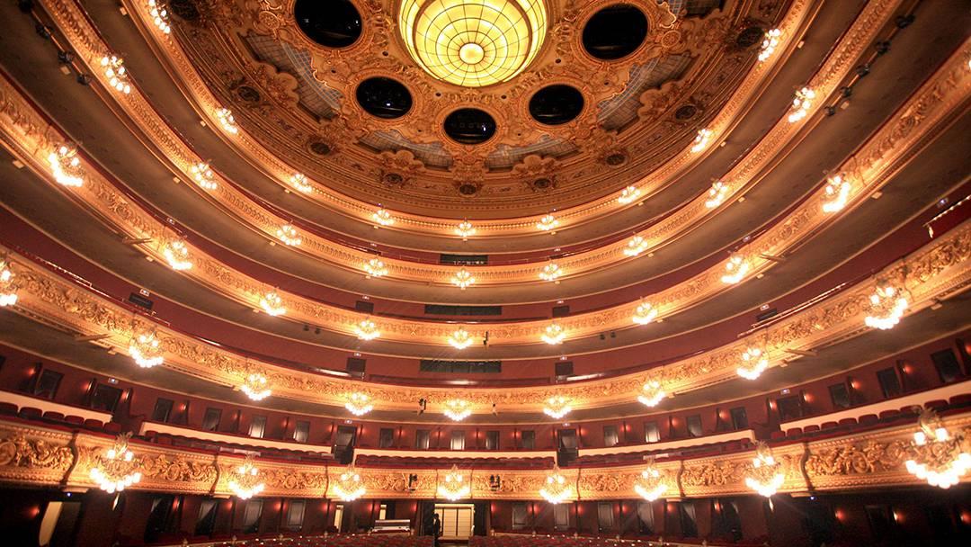 Inside the Gran Teatre del Liceu