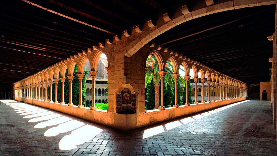 Cloister of the Royal Monastery of Santa Maria de Pedralbes