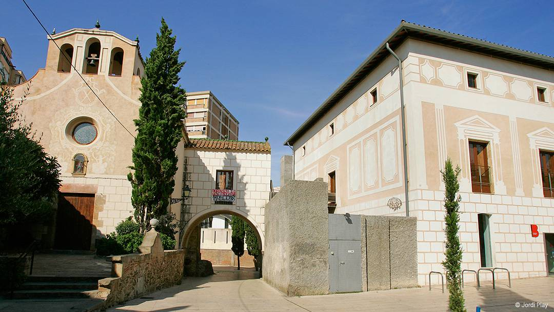 Le centre de Santa Eulàlia de Vilapicina