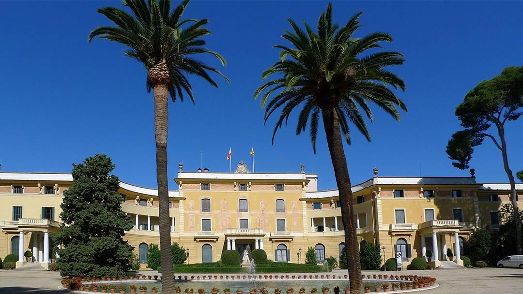 Palau de Pedralbes facade
