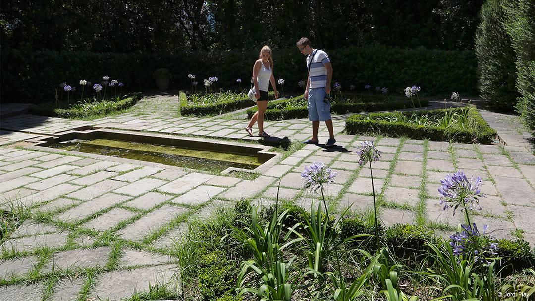 Els jardins de la Tamarita