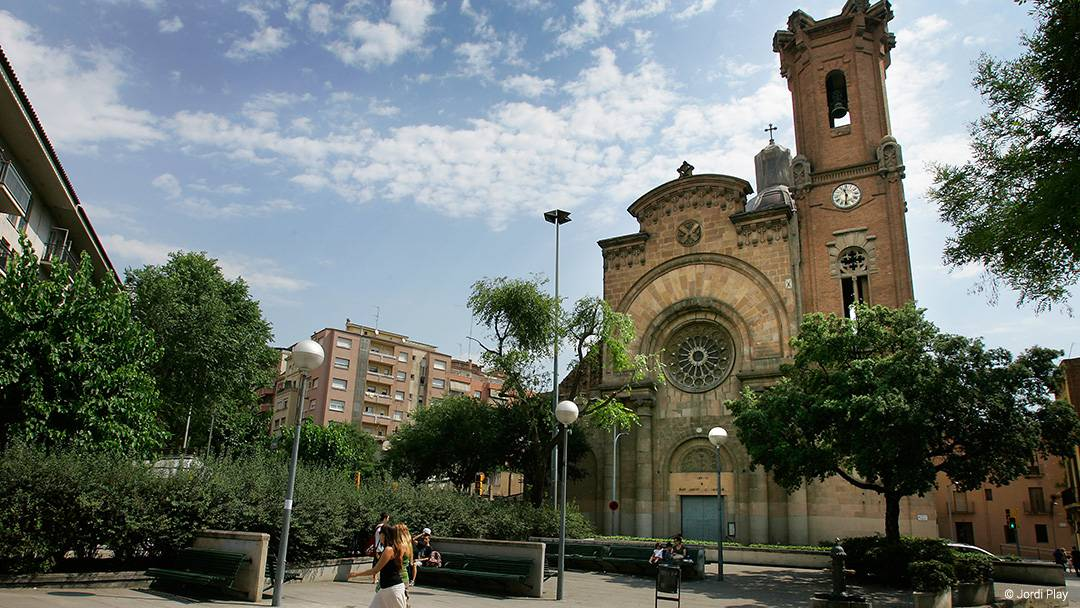 La iglesia de Sant Andreu de Palomar