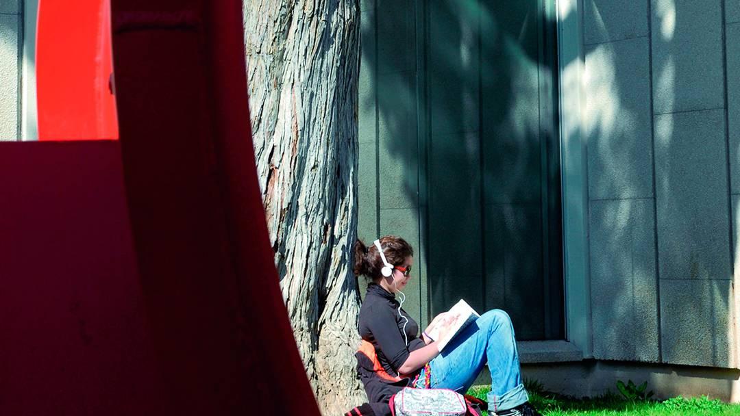 Exteriors de la Fundació Joan Miró