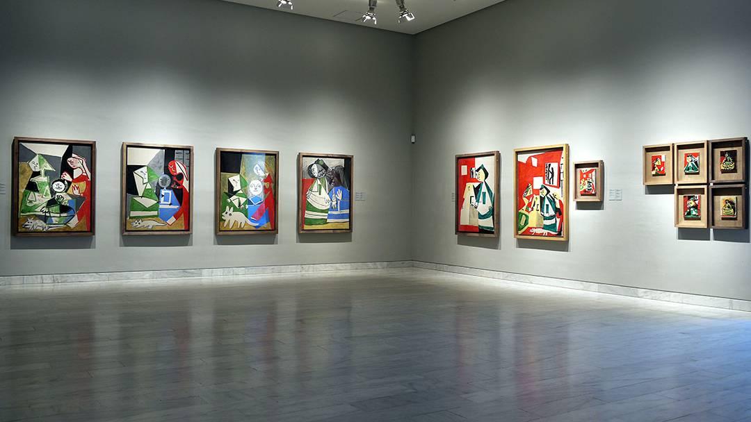 Una de les sales del Museu Picasso