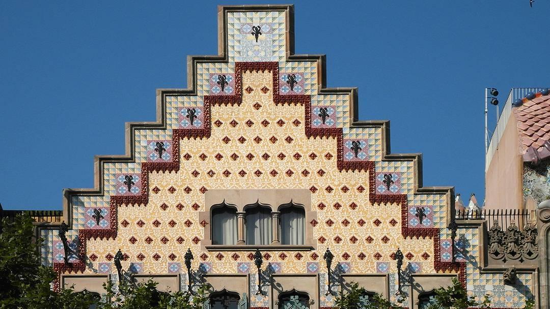 Facade of Casa Amatller