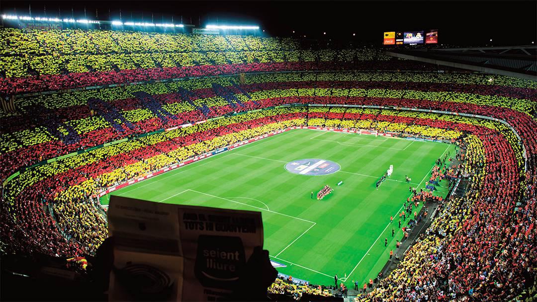 Vue du Camp Nou