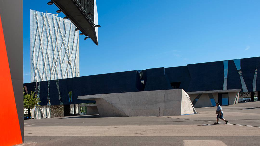 L'edifici del Museu Blau