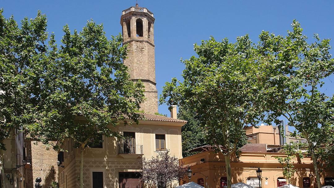 La plaça del Consell de la Vila