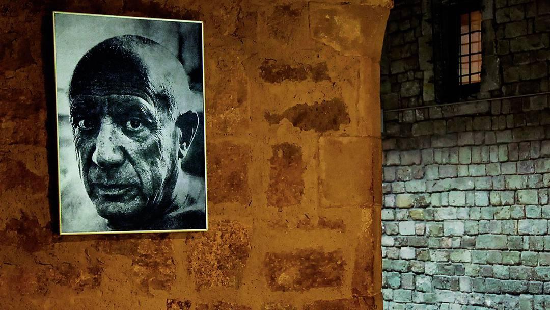 Retrato del pintor Pablo Picasso