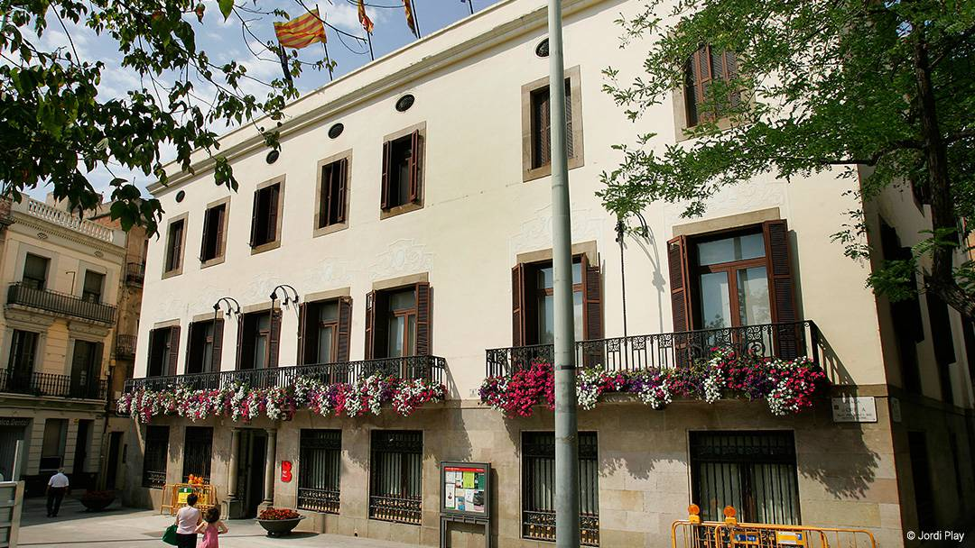 La seu del districte de Sant Andreu
