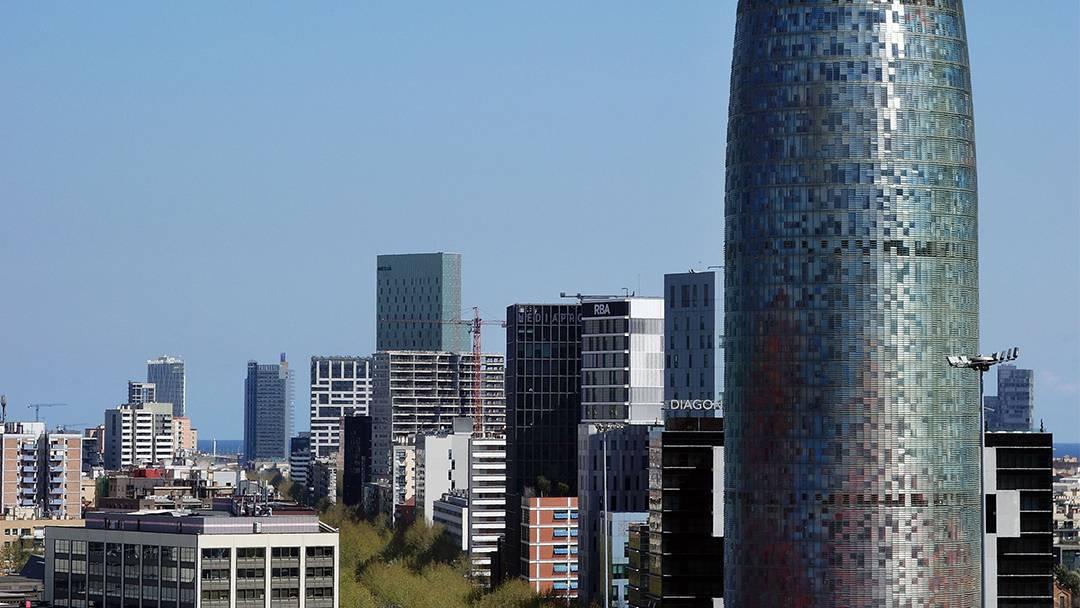 La Torre Agbar, en la avenida Diagonal