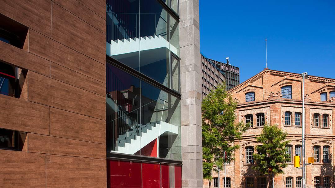 Un dels edificis de la Universitat Pompeu Fabra