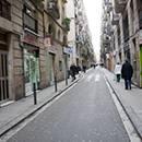 Una calle del Raval de Terenci Moix