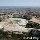 El Turó de la Rovira, des d'on es mostra Barcelona a Biutiful
