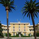 The Palau Reial building in Pedralbes