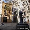 La plaza del Raspall de Gràcia