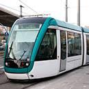 By tram