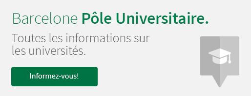 Barcelona Pôle Universitaire. Toutes les informations sur les universités. Informez-vous!