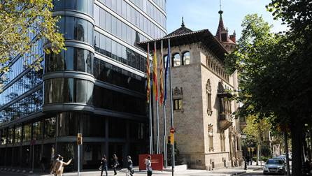 La Casa Serra, siège du Conseil Provincial de Barcelone
