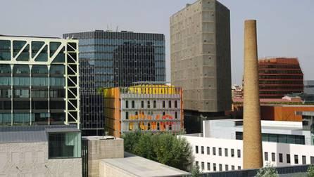 Nuevos edificios en el distrito 22@
