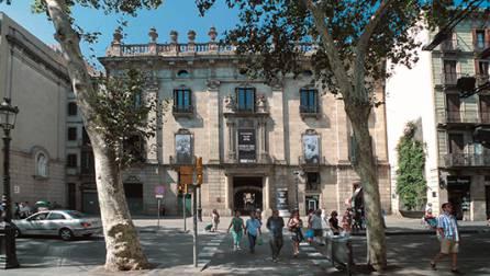 Entrada del Museu d'Història de Catalunya