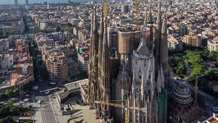Façade de la Sagrada Família