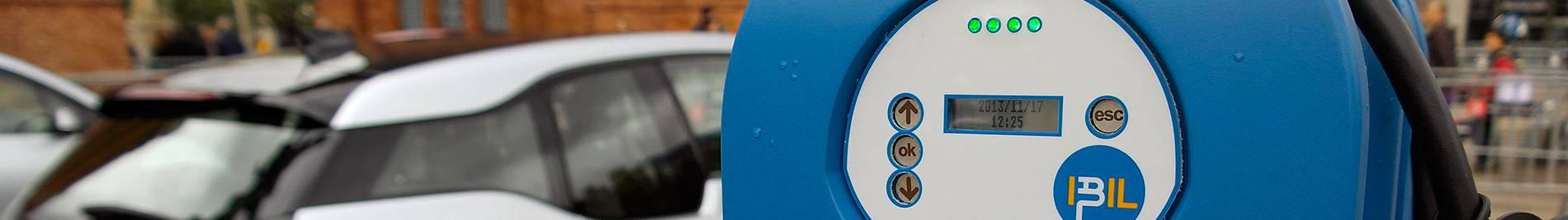 Borne de recharge de voitures électriques