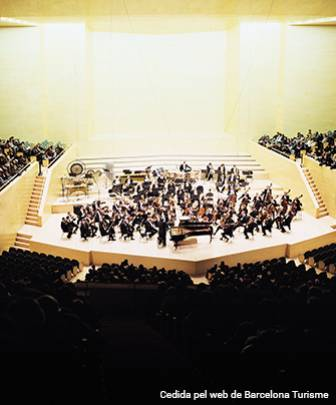 Orquestra de cambra a l'Auditori de Barcelona