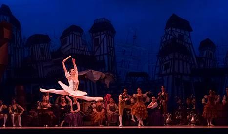 Ballarina professional de ballet