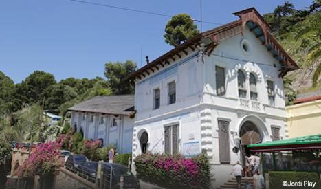 Estación del funicular del Tibidabo