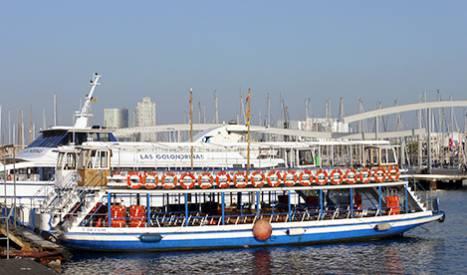 Barcelona's Golondrina pleasure boats