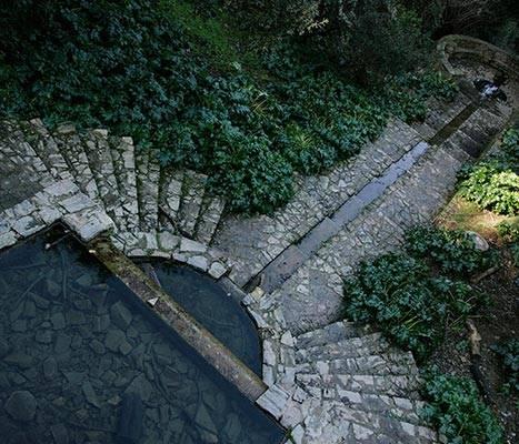 La fontaine de la Budellera